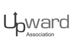 upward logo bw